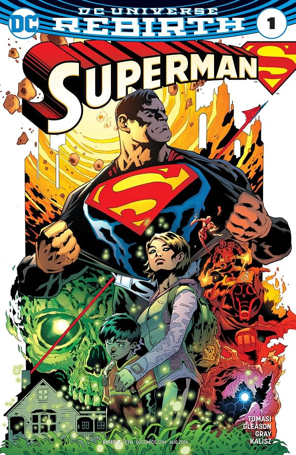 Superman #42 is a Bizarro Version of Superman Rebirth – Both by Peter J. Tomasi and Patrick Gleason