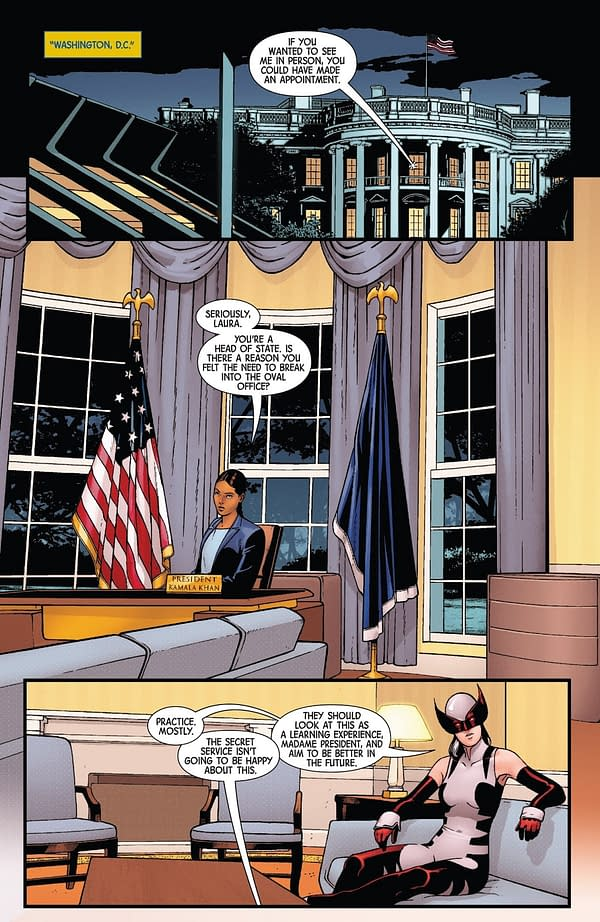 X-Men: Bland Design X-Travaganza – The Beginning of the End in All-New Wolverine #33