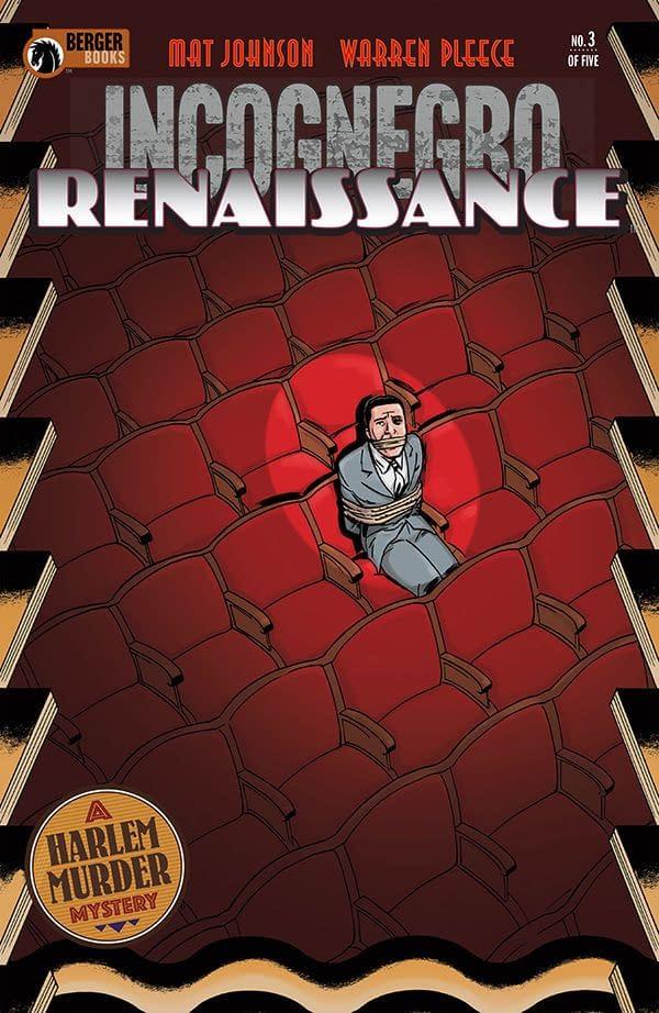 Incognegro: Renaissance #3 cover by Warren Pleece