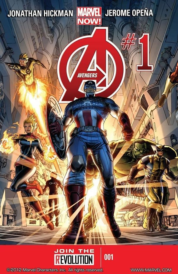 Get Every Issue of Jonathan Hickman's Avengers Run (Including Events) on Sale on ComiXology