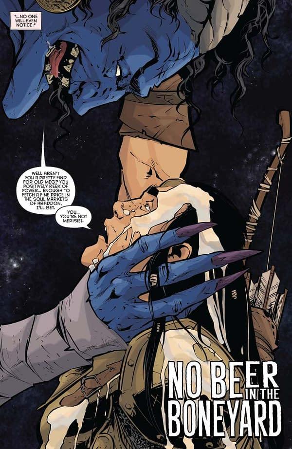 Writer's Commentary – Crystal Frasier Talks Pathfinder: Spiral of Bones #2