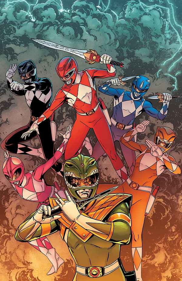 Is This the Rarest Cover to Mighty Morphin Power Rangers #25?