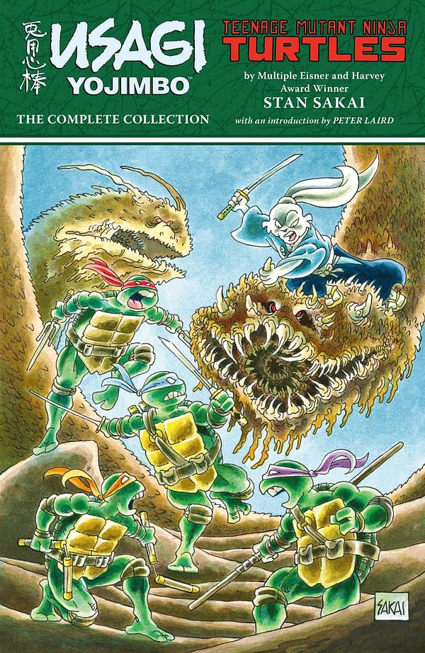 Dark Horse Collects Stan Sakai's Complete TMNT/Usagi Yojimbo Crossovers