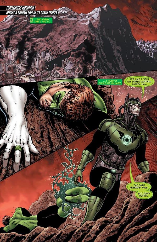 Will Liam Sharp Join Grant Morrison on Green Lantern? DC Fresh Start…