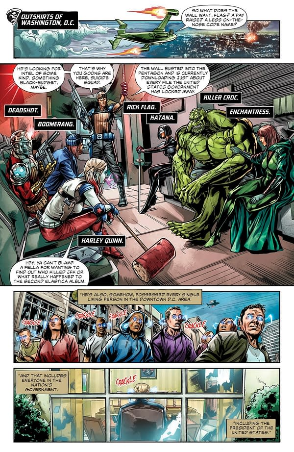 Donald Trump Makes an Appearance in DC Comics' Suicide Squad #39