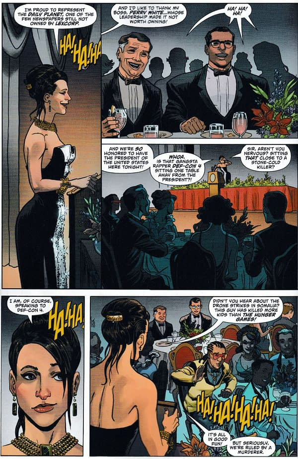 Today, Lois Lane Tells Clark Kent The Importance Of The White House Correspondents' Dinner (Action Comics Special Spoiler)