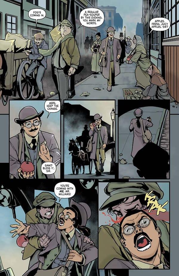 Writer's Commentary – Leah Moore Talks Sherlock Holmes: The Vanishing Man #1