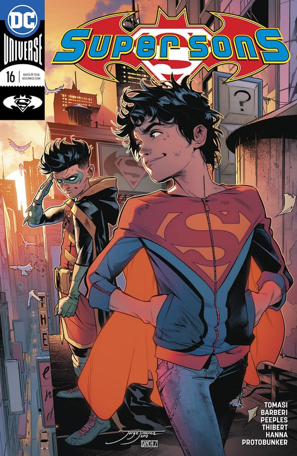 Welcome to the Latest Members of DC Comics' Superman and Batman Families (Super Sons #16 Spoilers)