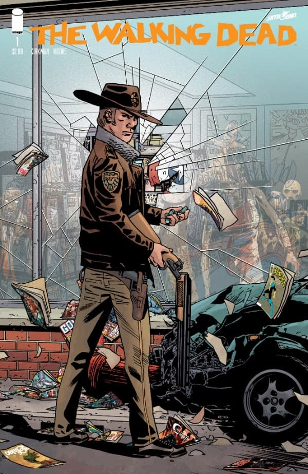 Walking Dead Day Announced For October 13th, With Retailer Exclusive Variants Of #1