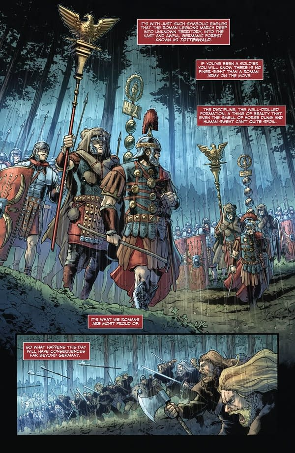 Lost Eagles of Rome Found in First Look at Peter Milligan and Robert Gill's New Britannia Comic
