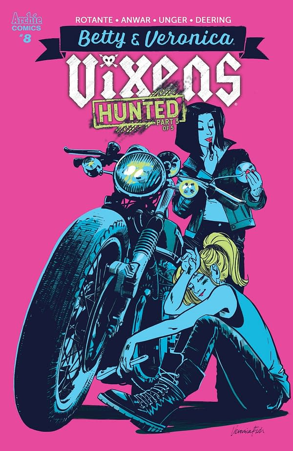 Since When Do Psycho Chicks Read Comics? A Pre-Order Preview of Betty & Veronica: Vixens #8