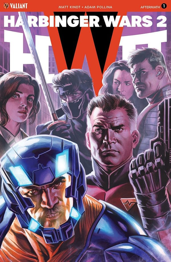 Harbinger Wars 2: Aftermath One-Shot Will Sort Through Rubble of Valiant's Super-Mega-Crossover Event
