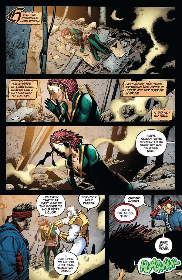 Writer's Commentary – Marc Guggenheim Talks Swashbucklers: The Saga Continues #3