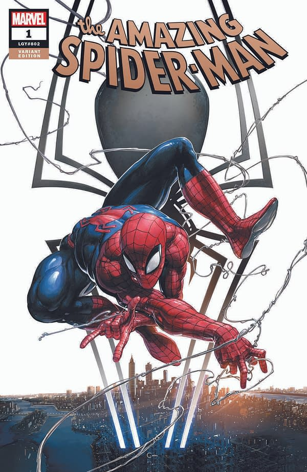 A Barrage of Amazing Spider-Man #1 Covers for Volume 5