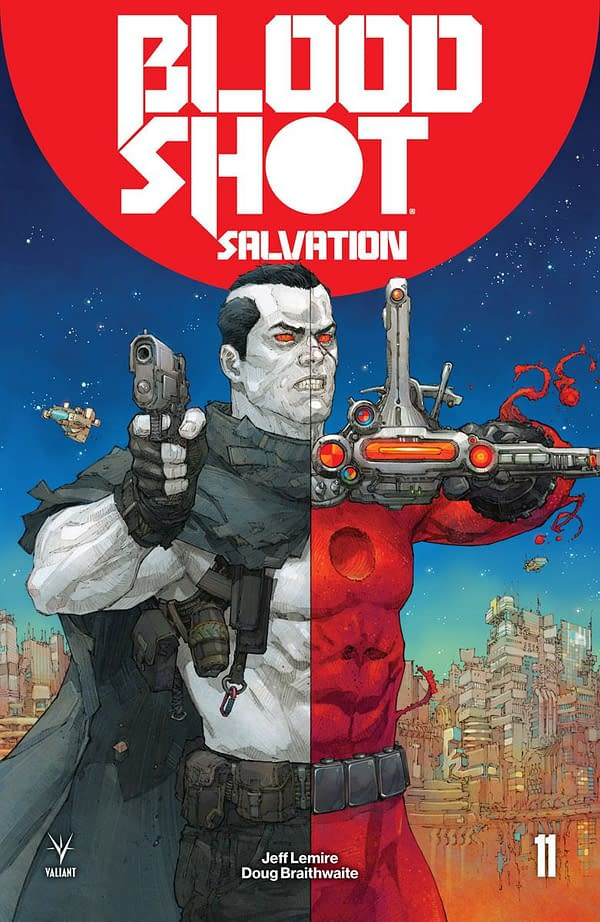 Bloodshot Salvation #11 cover by Kenneth Rocafort