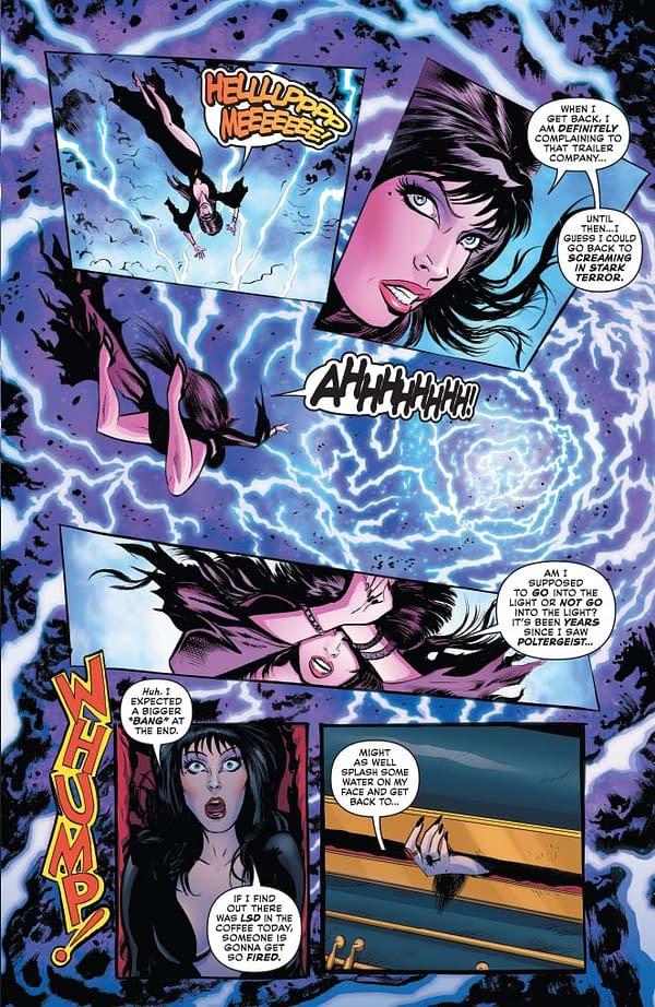 Creators' Commentary – David Avallone and Dave Acosta on Elvira: Mistress of the Dark #1