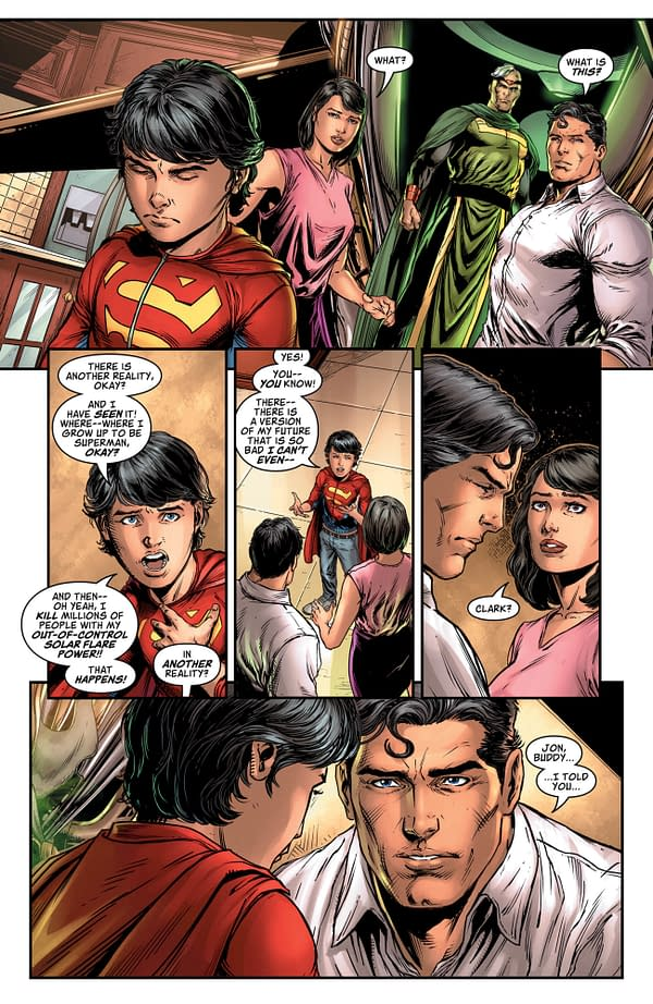 Brian Michael Bendis Went Over His Page Count for Man of Steel #6