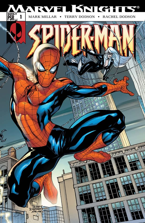 Has Mark Millar's Twitter Been Hacked Again? Or Does He Really Need a 100-Foot Tall Inflatable Spider-Man?