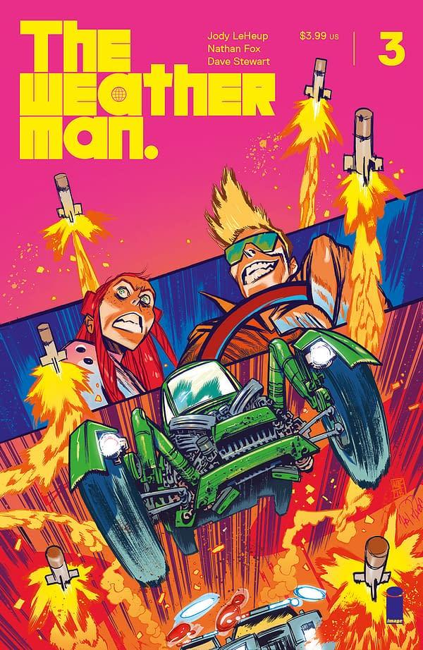 Image Slips James Harren Weatherman #3 Variant Under the Comic-Con Radar