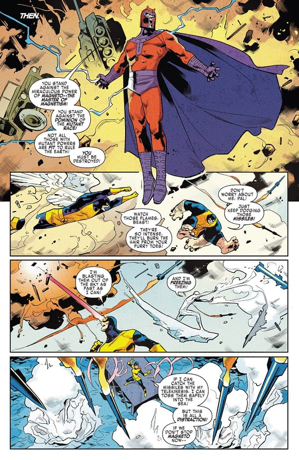 X-ual Healing: Another Magneto Rampage in X-Men Gold #32