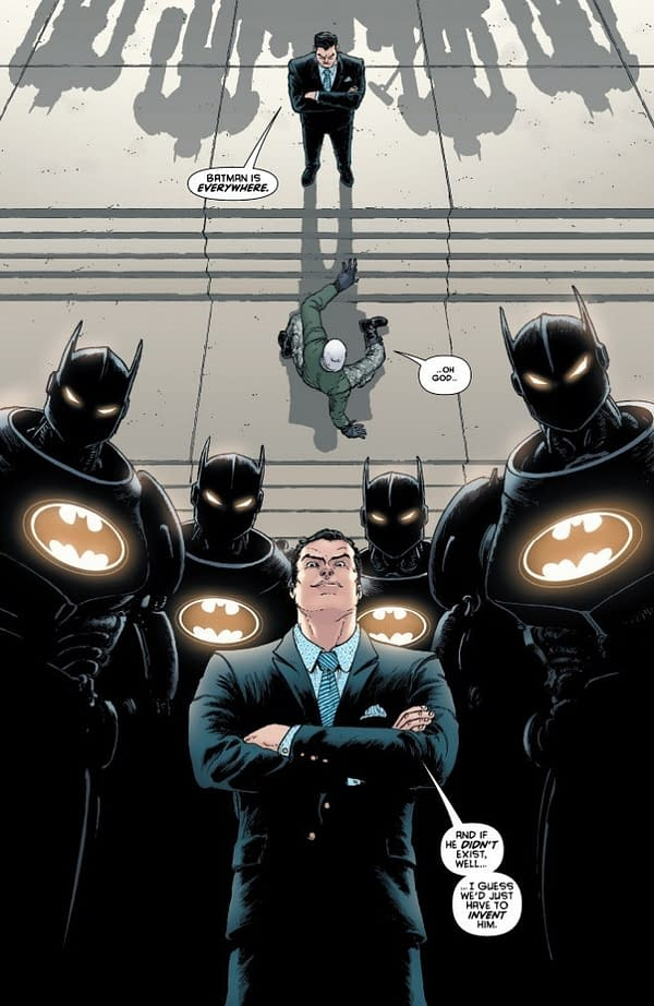 Batman Smashes The Cistern in Batman #51 (SPOILERS)