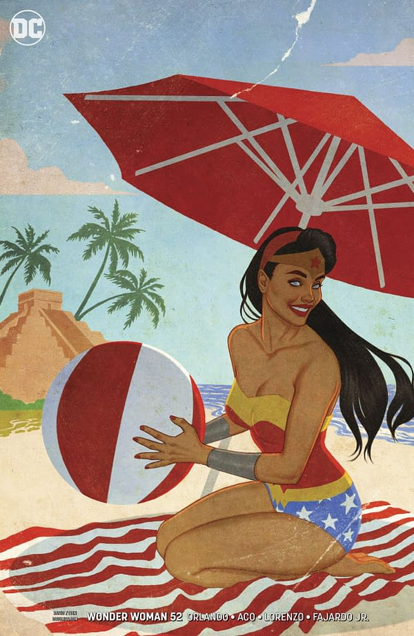 Changes to Jenny Frison's Wonder Woman Cover Infuriate Retailers