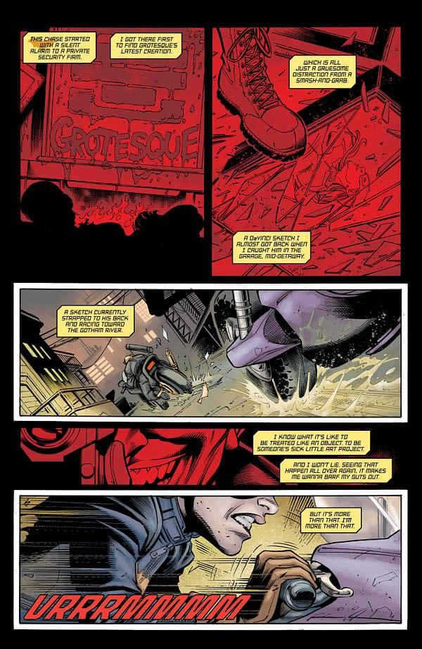 This Week Barbara Loses The Cape – Batgirl #26 Preview