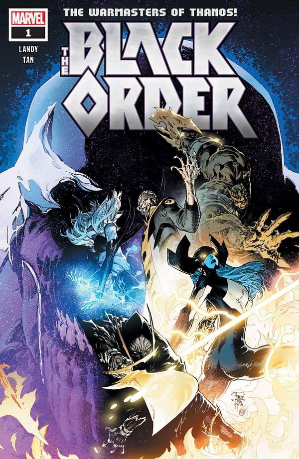 Derek Landy and Philip Tan Create 'The Black Order' from Marvel in November