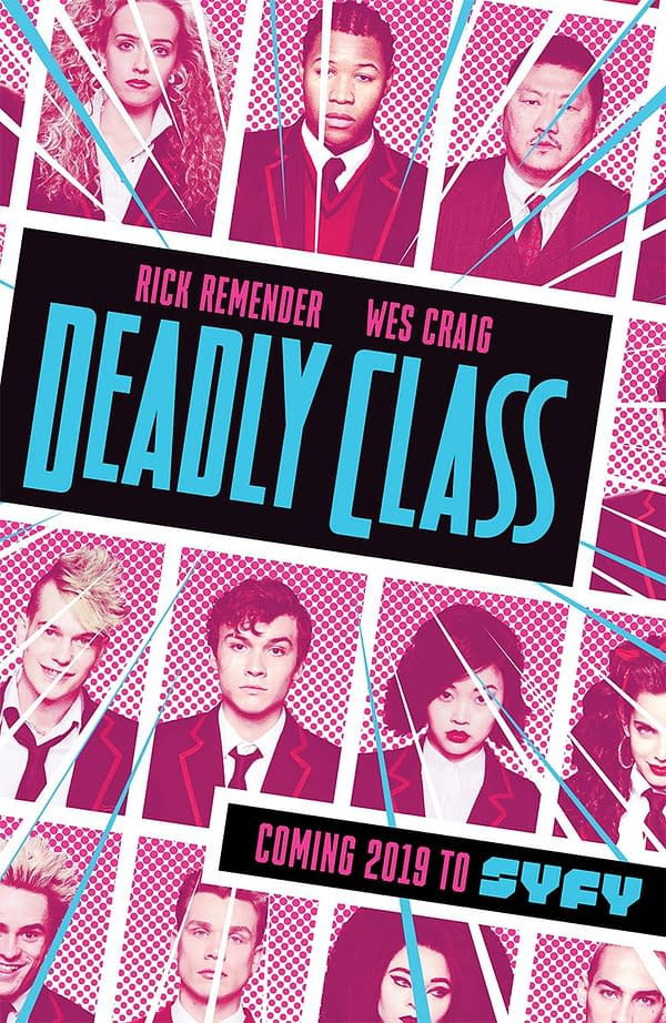Deadly Class Trailer Released at NYCC, Premieres January 16