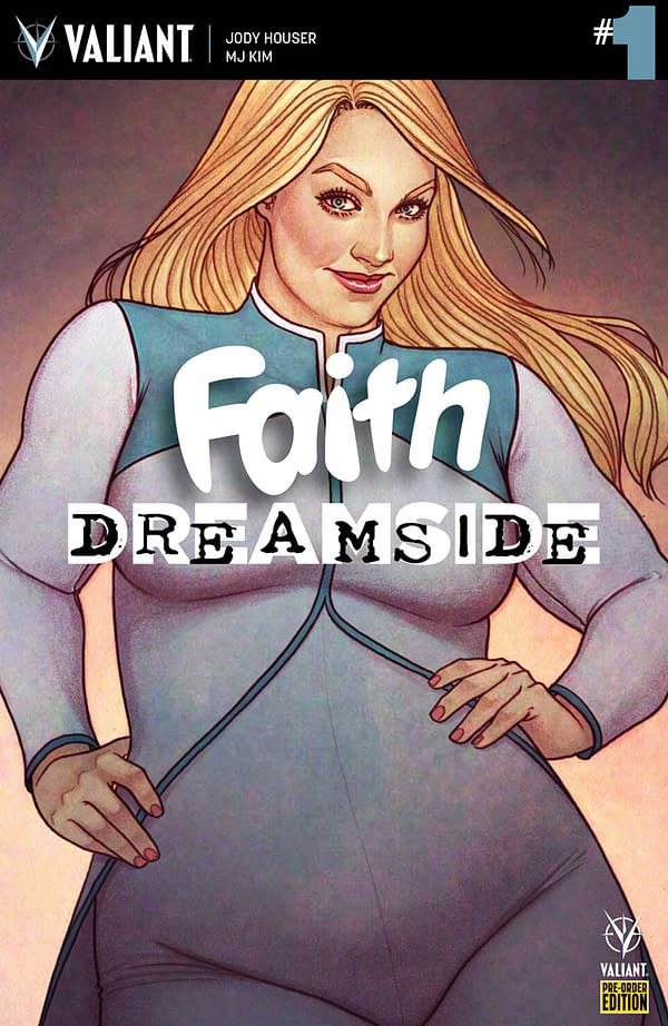 First Look at Lettered Pages for Faith: Dreamside #1
