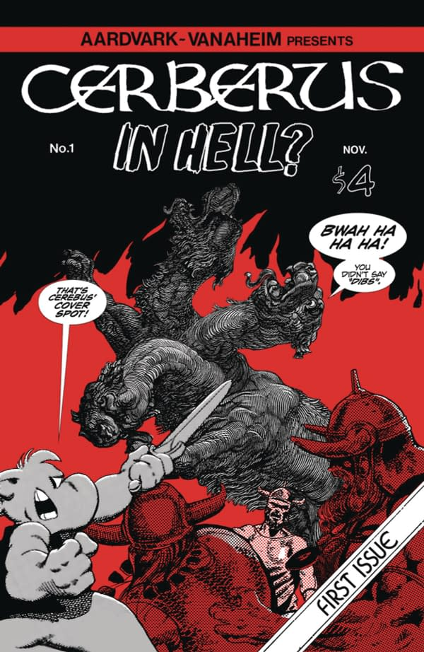 It's Cerberus in Hell, Not Cerebus in Hell…