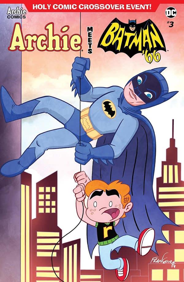 Inter-company Crossover Romance in Archie Meets Batman '66 #3 Pre-Order Mini-Comic