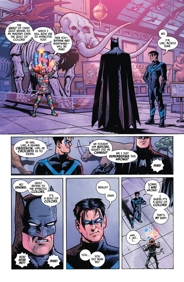 Nightwing Doesn't Want to Be Poked in Tomorrow's Batman #54