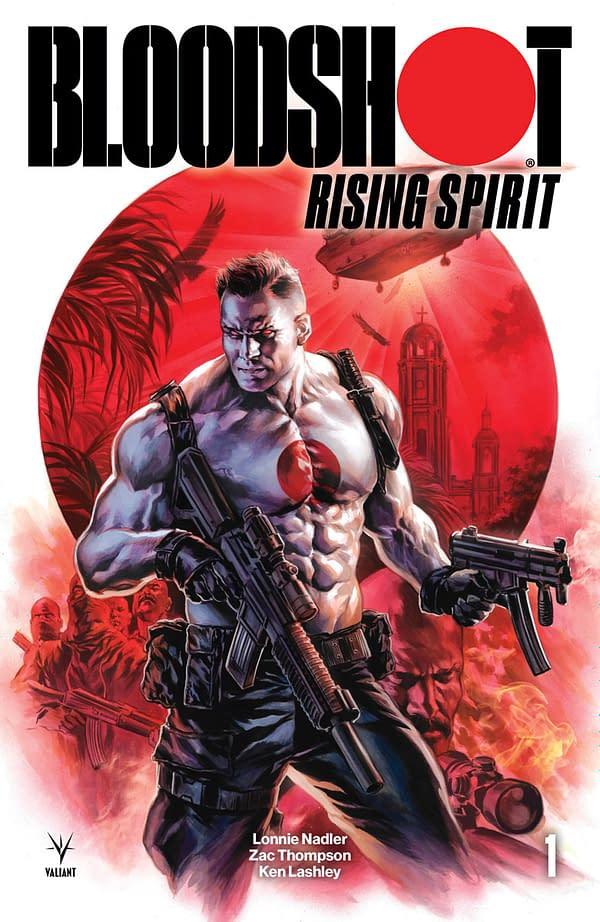 Good News for Doomsday Preppers: Valiant Ships Nanite Prevention Kit for Bloodshot Rising Spirit #1