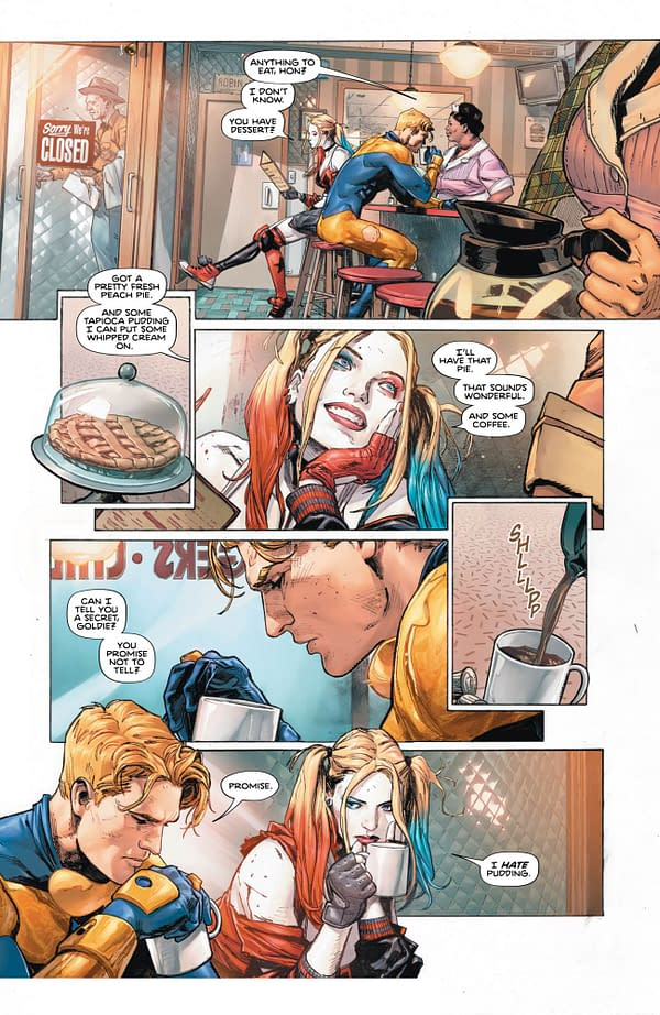 5 Pages from Wednesday's Heroes in Crisis #1