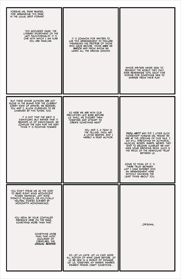 What Made Warren Ellis Swear In Fearscape #1, Out Tomorrow?