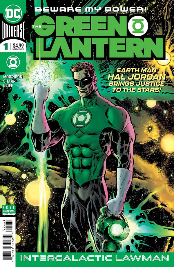 Grant Morrison Reimagines Green Lantern as a Dude Who Crashes on Your Couch (Preview)