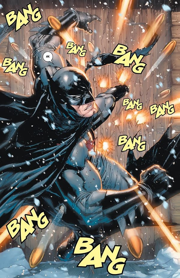 Now the KGBeast Shoots Bruce as Mark Buckingham and Andrew Pepoy Surprise-Draw Tomorrow's Batman #57
