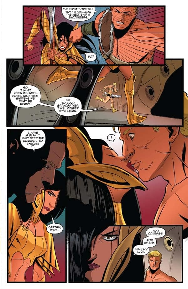 Amy Chu and Her Interns' Commentary on Dejah Thoris #9