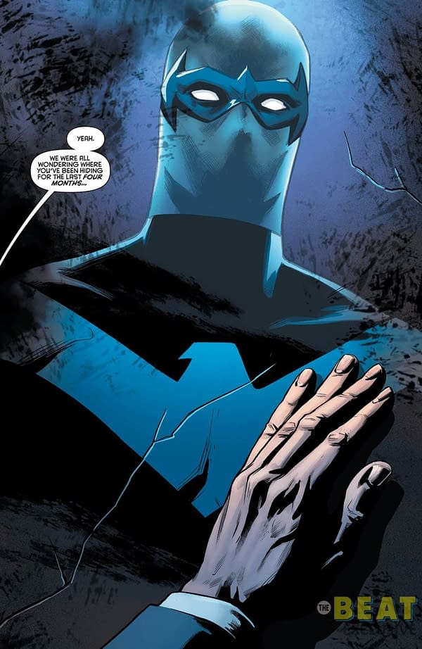 Dick Grayson is Now Called Ric Grayson as Fabian Nicieza Joins Scott Lobdell on Nightwing #51