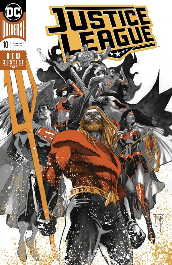 More DC Comics Move From 20 to 22 Pages For $3.99 With Aquaman and Justice League Joining In