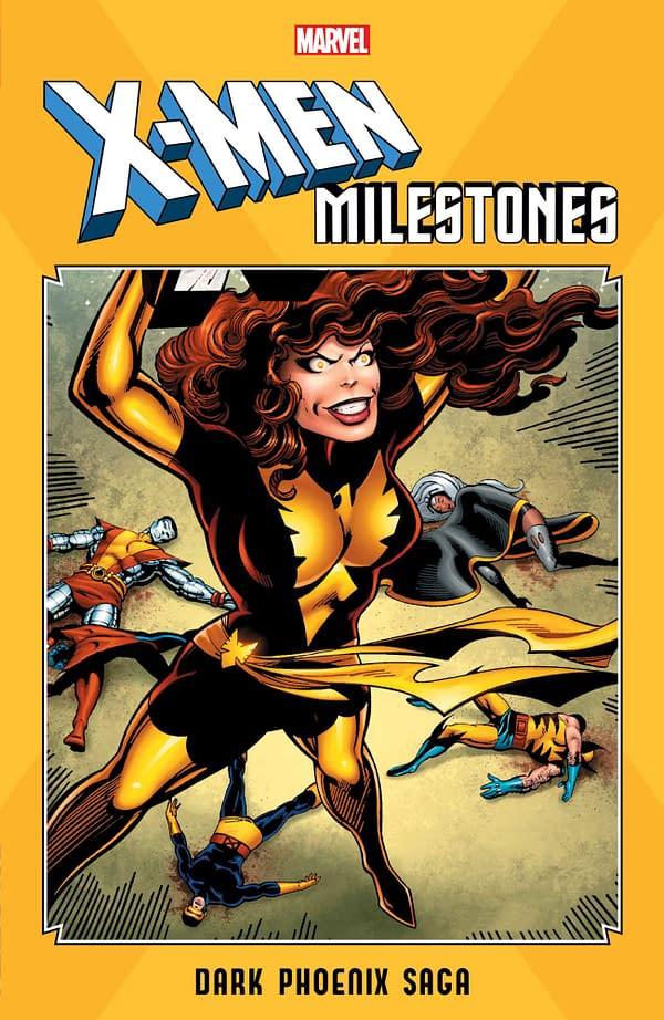 Marvel Launches X-Men Milestones TPB Line With Dark Phoenix Saga, Fall of the Mutants, Mutant Massacre