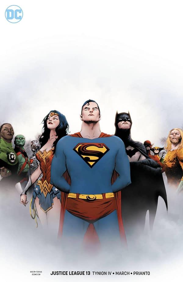 16 Revealed DC Comics Covers for December From Mitch Gerads, Francesco Mattina, Amanda Conner, Jae Lee and More