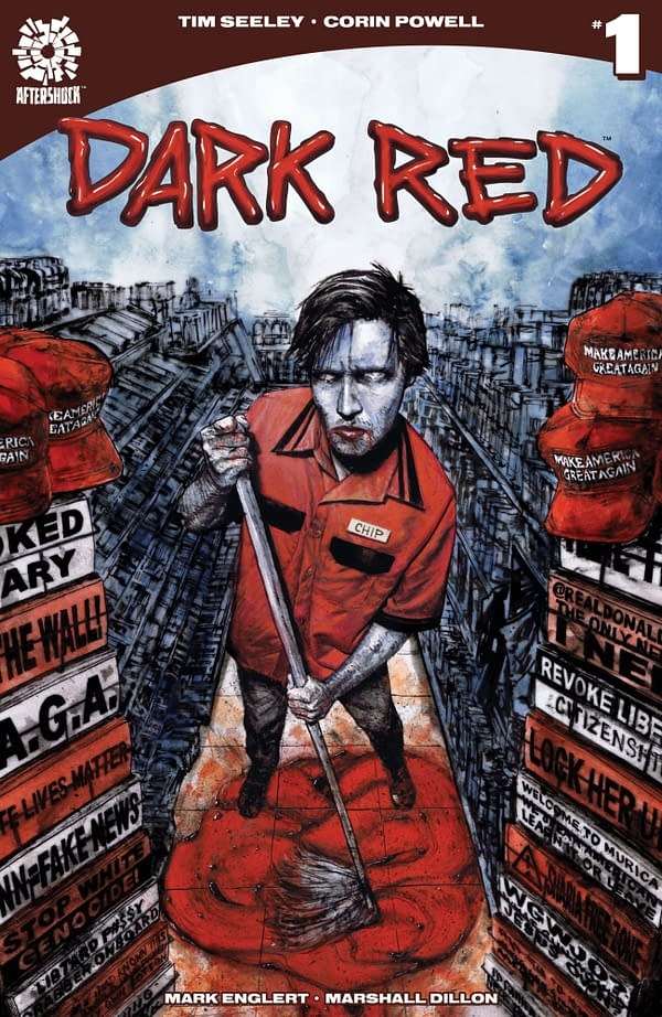 Tim Seeley and Corin Howell Explore America's Political Divide with Vampires in New Series Dark Red