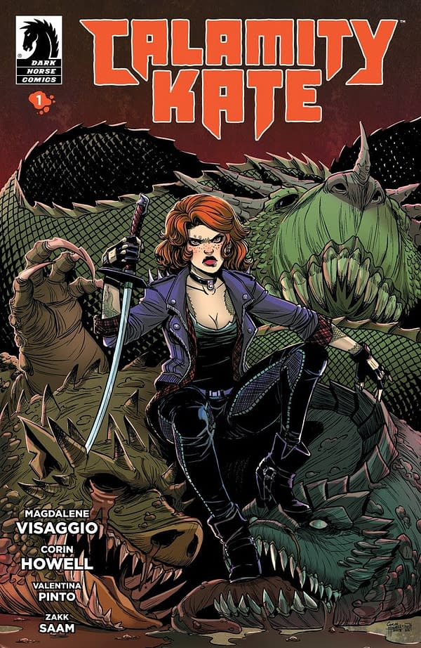 Calamity Kate is a Monster Hunting New Series From Mags Visaggio and Corin Howell