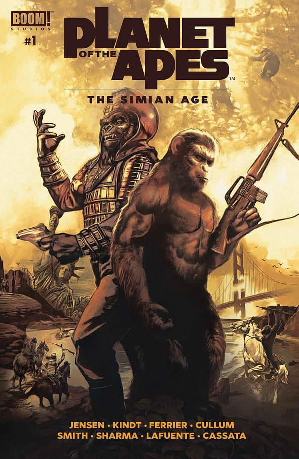 "'Planet of the Apes: The Simian Age"" #1 Review"
