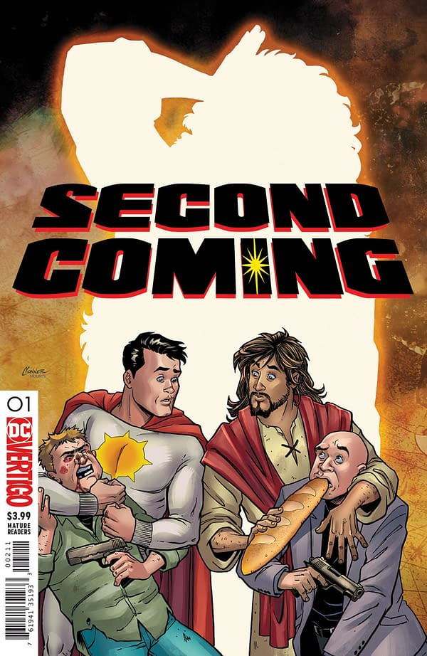 Jesus Returns in March at Vertigo, and He Won't Like What He Finds