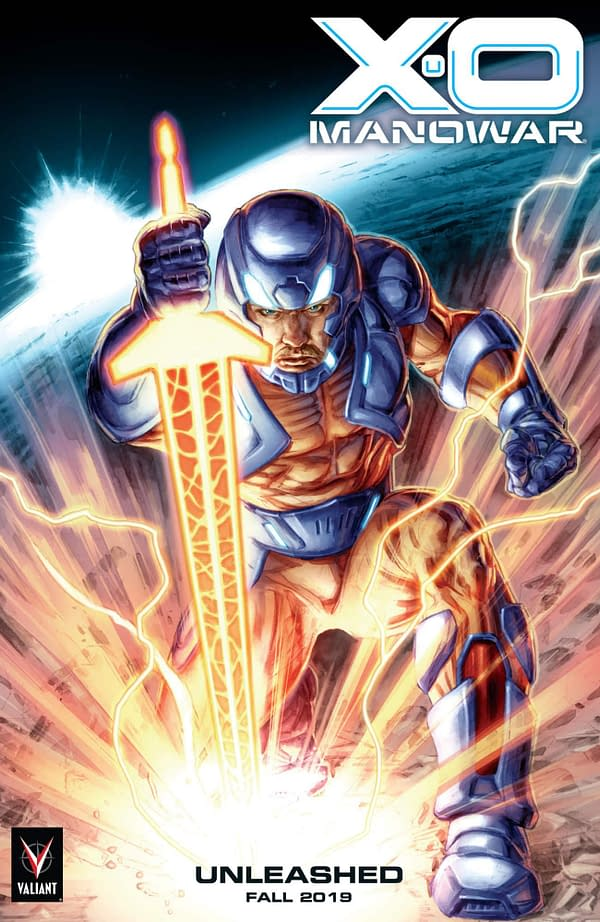 Valiant to Unleash the X-O Manowar This Fall