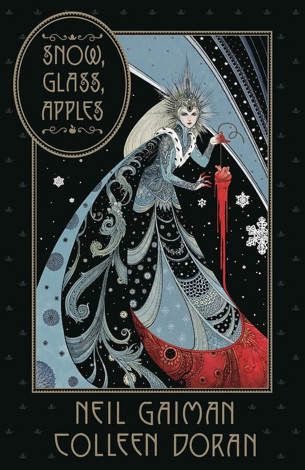 Colleen Doran Adapts Neil Gaiman's Snow, Glass, Apples for Dark Horse