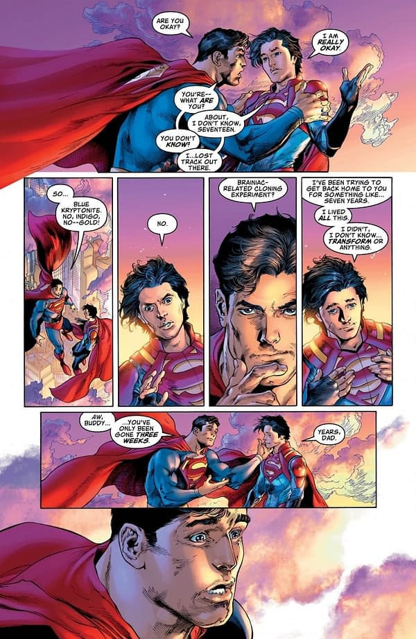 Jonathan Kent, Superboy, is Now 17 Years Old…